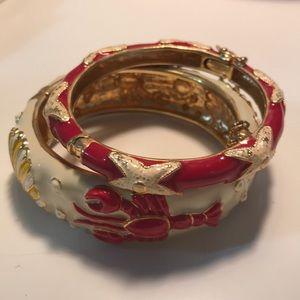 J. Crew Vintage Enamel Bracelets